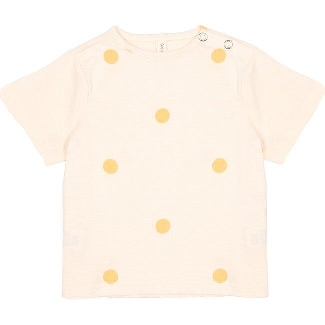 T-Shirt, Cream Dots