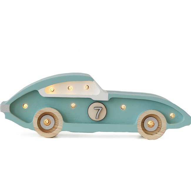 Mini Racecar Lamp, Blue - Lighting - 1