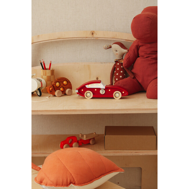Mini Racecar Lamp, Red