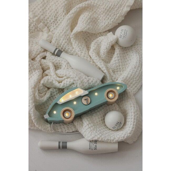 Mini Racecar Lamp, Blue