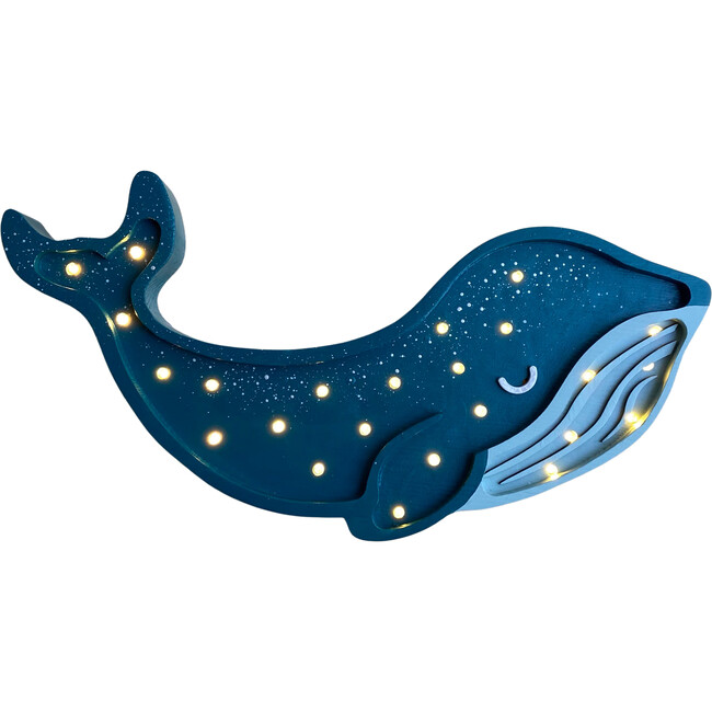 Whale Lamp, Teal