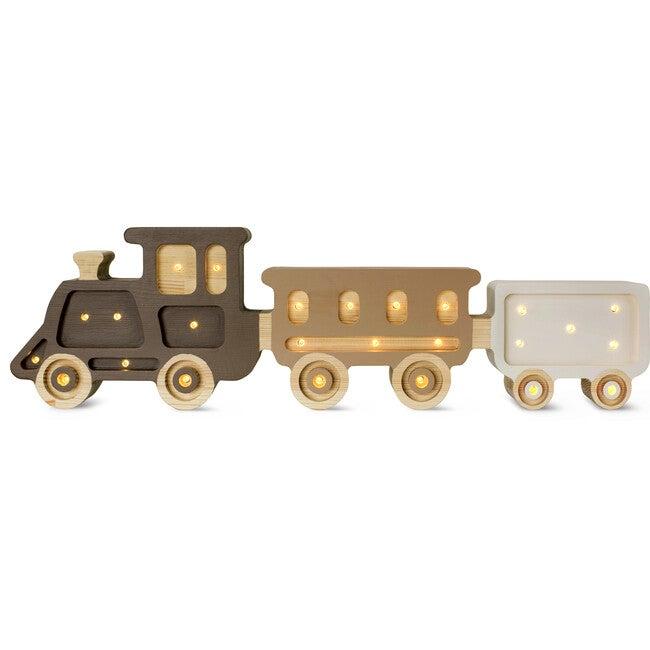 Locomotive Train Lamp, Coffee Cream Neutral - Lighting - 1