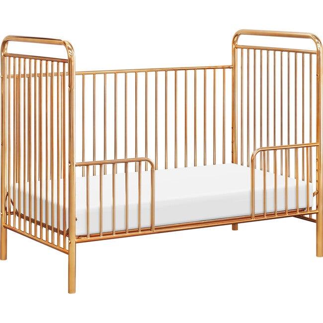 Jubilee 3-in-1 Convertible Metal Crib, Gold