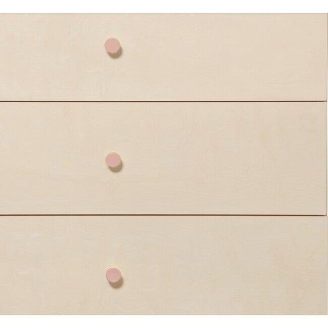 Gelato Dresser Knob Set, Petal Pink - Dressers - 1