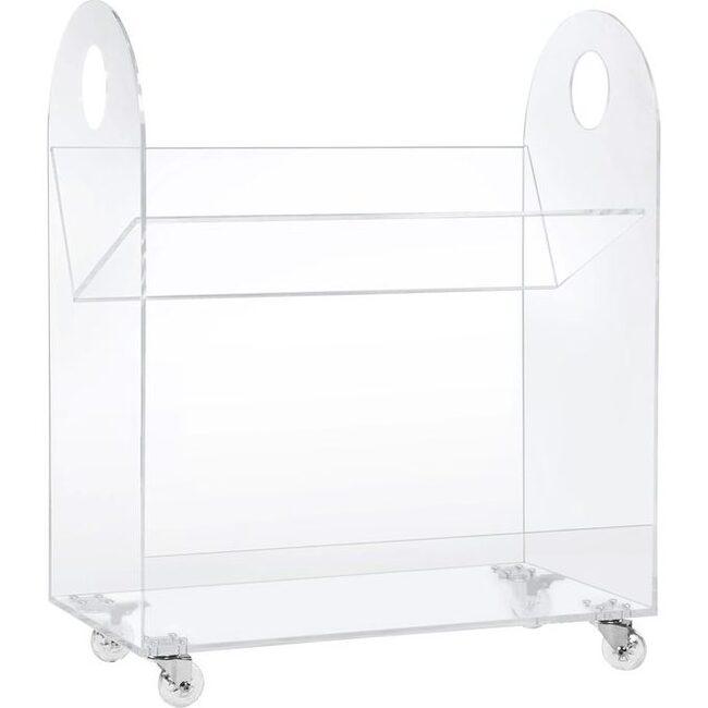 Presto Acrylic Bookcase and Cart