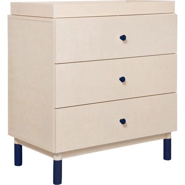 Gelato Crib and Dresser Feet Pack, Navy
