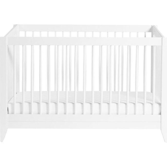 Sprout 4-in-1 Convertible Crib with Toddler Bed Conversion Kit, White - Cribs - 1