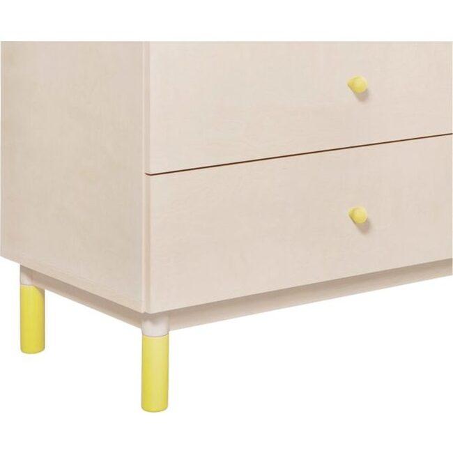 Gelato Dresser Knob Set, Yellow