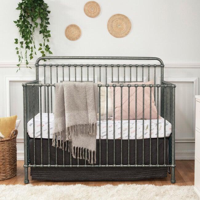 Winston 4-in-1 Convertible Crib, Vintage Silver