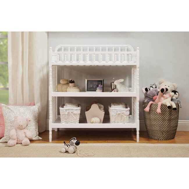Jenny Lind Changing Table, White