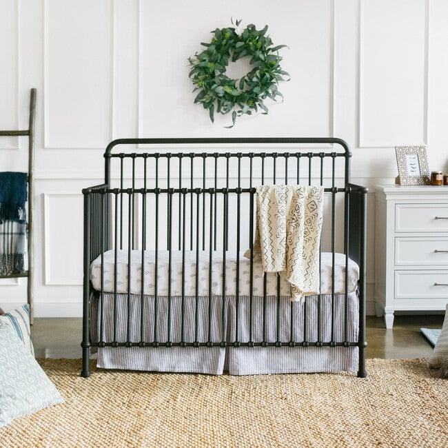Winston 4-in-1 Convertible Crib, Vintage Iron