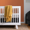 Hudson 3-in-1 Convertible Crib with Toddler Bed Conversion Kit, White - Cribs - 3