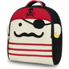 Pirate Backpack, Red - Backpacks - 1 - thumbnail