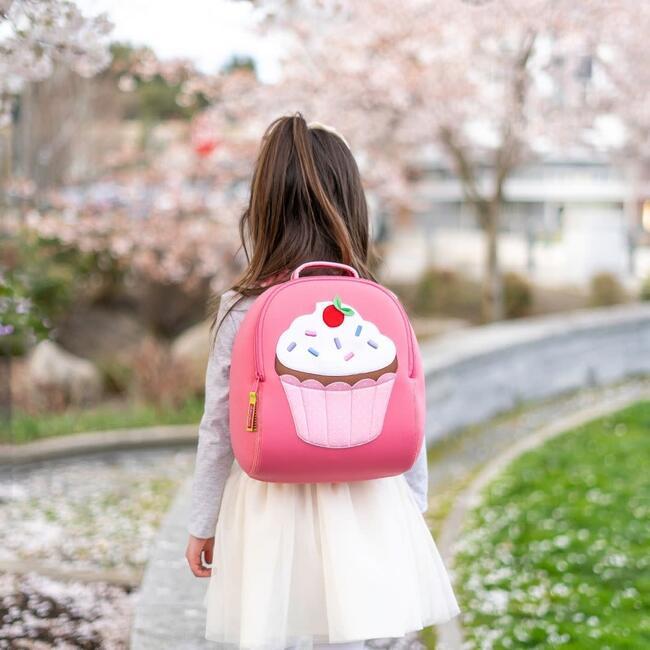 Cupcake Backpack, Pink