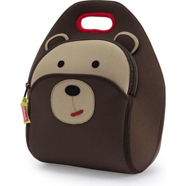 Brown Bear Lunch Bag, Brown