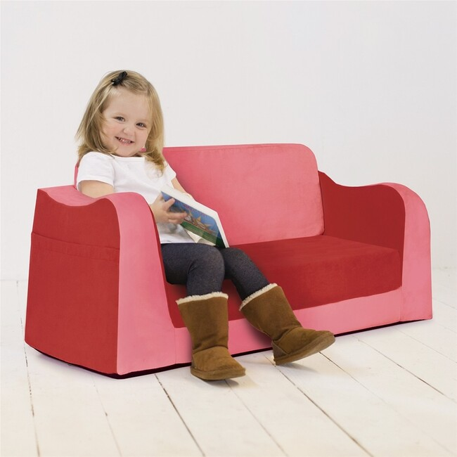 Little Reader Sofa, Red