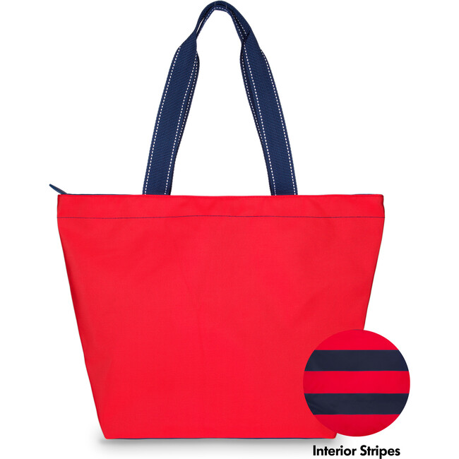 Red Surfside Tote