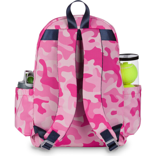 Little Love Tennis Backpack, Pink Camo