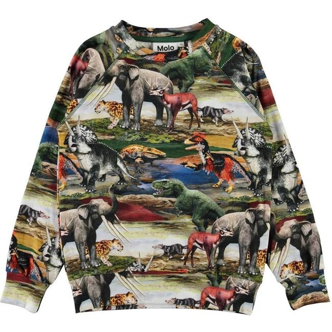 Ancient World Sweater, Green