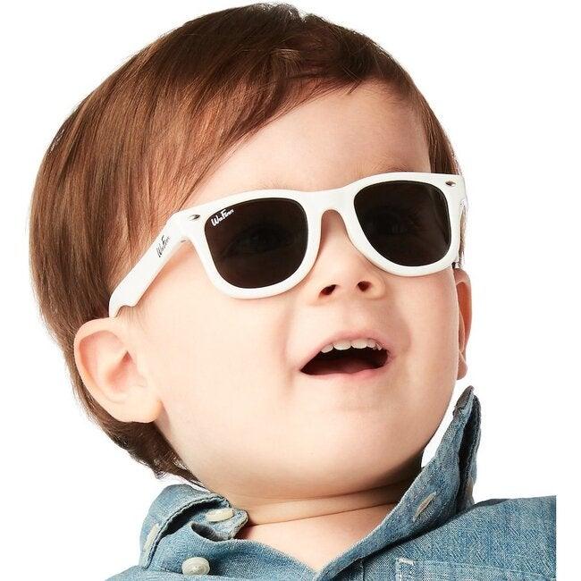 Polarized Sunglasses, White