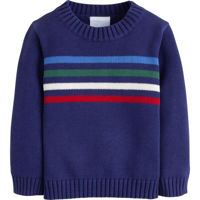 Multi Stripe Intarsia Sweater