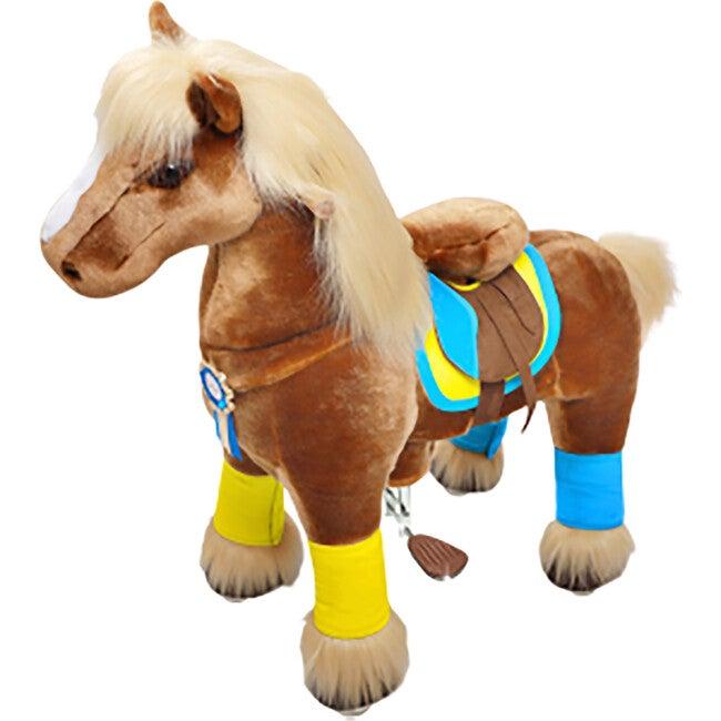 Brown Horse with Long Mane, Medium