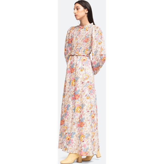 Women's Ines Long Sleeve Dress, Cream