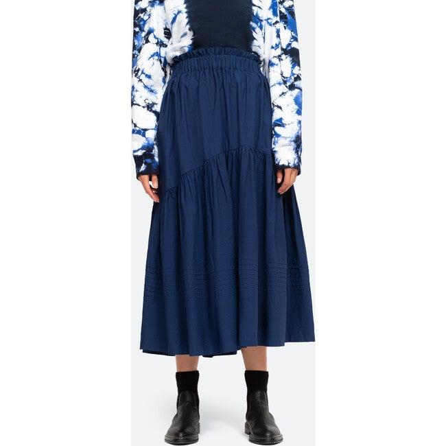 Women's Claudine Skirt, Blue