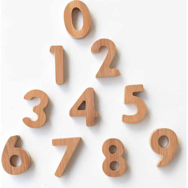 Bamboo Numbers - Stackers - 1