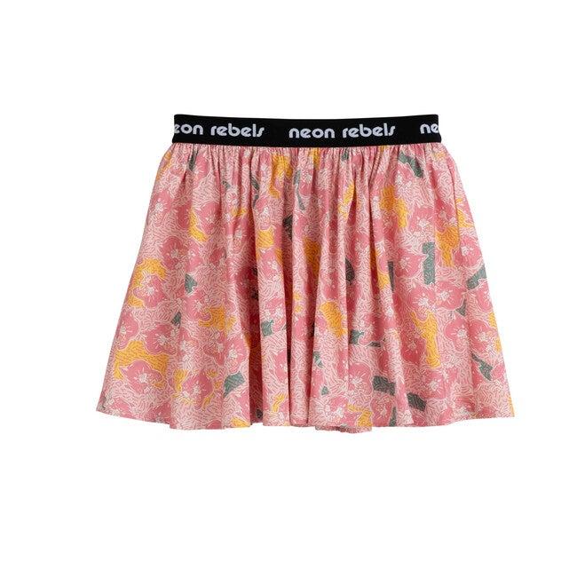 Patti Poplin Skirt, Crystal Rose Pink