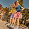 Patti Poplin Skirt, Crystal Rose Pink - Skirts - 4