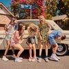 Nicki Shorts, Mint Leopard - Shorts - 4
