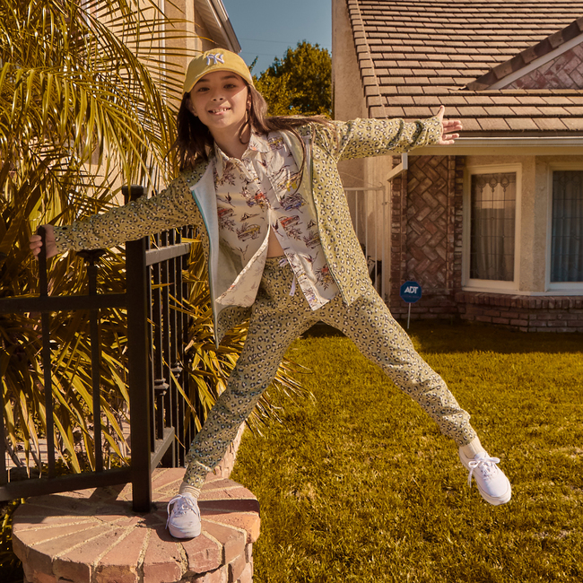 Billie Poplin Shirt, Marshmallow Muscle Car