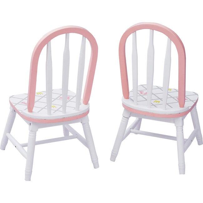 Swan Lake Set of 2 Chairs