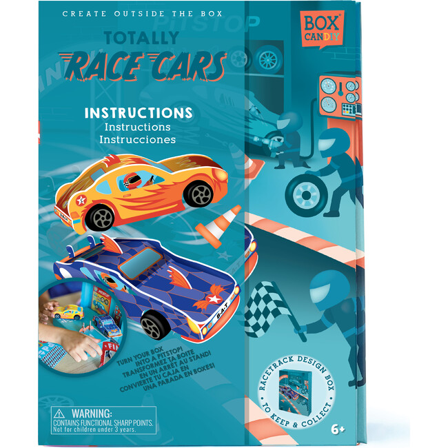 Totally Race Cars Build Your Own Pull-back Cars