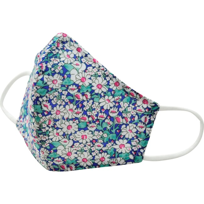 Cotton Face Mask, Pink and Green Floral