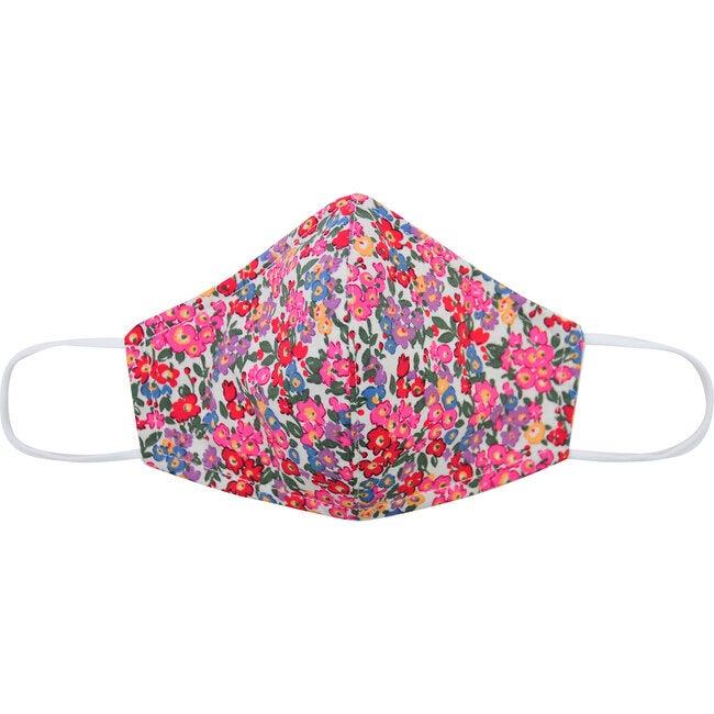 Cotton Face Mask, Multi Floral