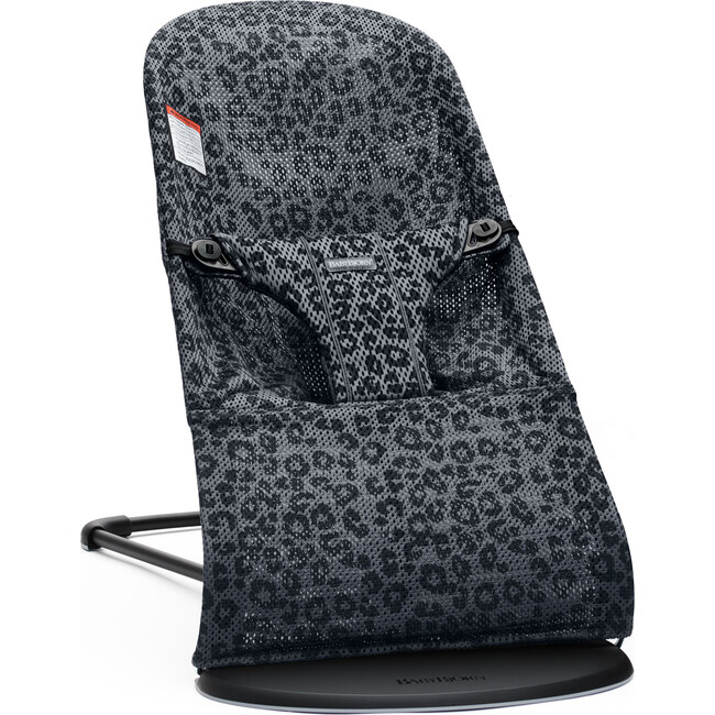 BABYBJÖRN Bouncer Bliss in Anthracite Leopard