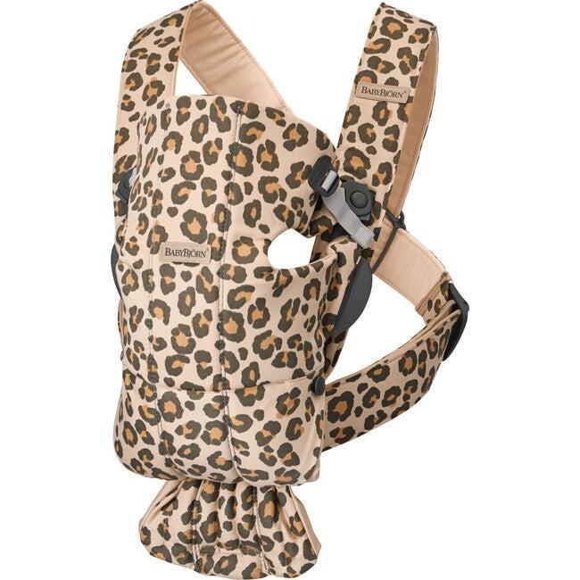 Baby Carrier Mini in Beige Leopard