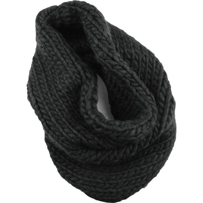 Infinity Scarf, Black