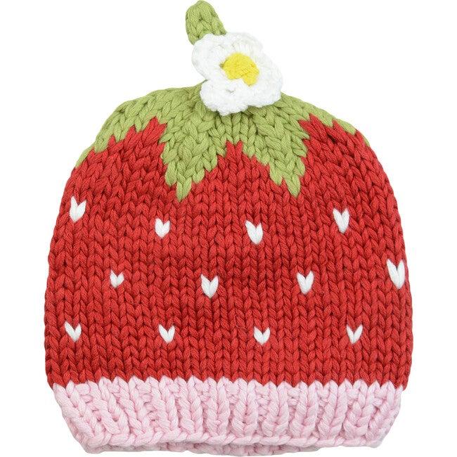 Bamboo Addie Strawberry Hat