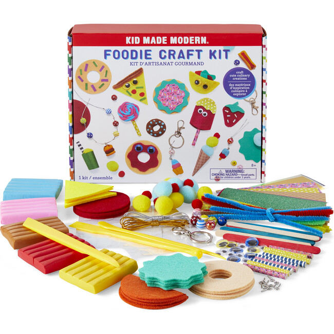 Foodie Craft Kit - Arts & Crafts - 1