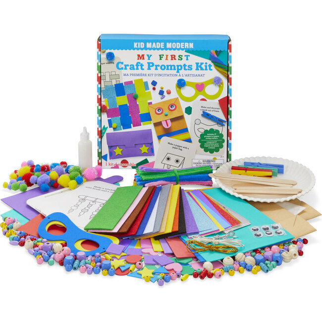 My First Craft Prompts Kit - Arts & Crafts - 1