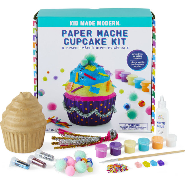 Paint Your Own Paper Mache Cupcake - Arts & Crafts - 1