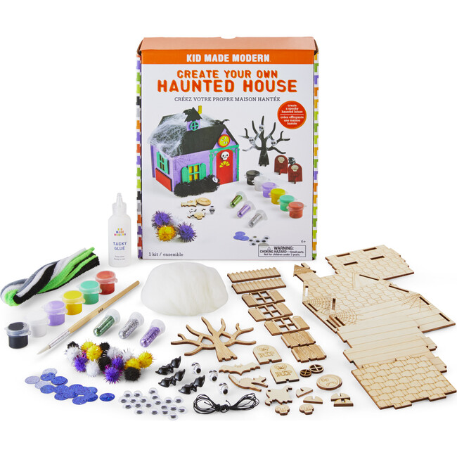 Create Your Own Haunted House Craft Kit - Arts & Crafts - 1