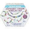 Alphabet Charm Jewelry Kit - Arts & Crafts - 2