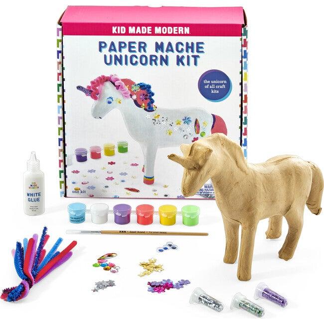 Paper Mache Kit, Unicorn - Arts & Crafts - 1
