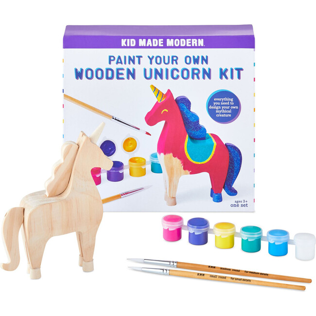 Paint Your Own Wooden Unicorn