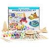Wooden Spaceship Craft Kit - Arts & Crafts - 1 - thumbnail