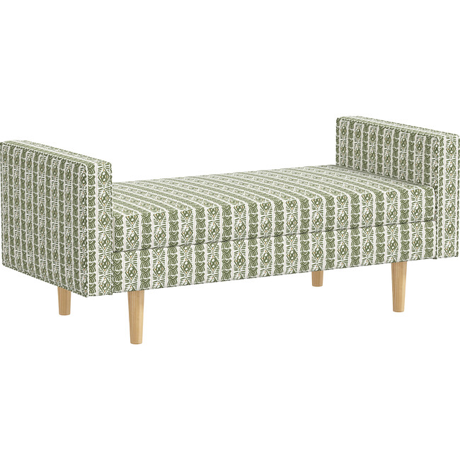 Nell Daybed, Boho Block Leaf